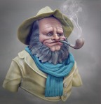 fisherman 3d render1