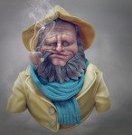 fisherman 3d render2