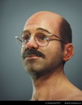 Tobias Fünke closeup, side